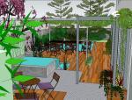 商业办公别墅庭院设计