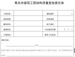 建筑工程主体结构质量检测实施细则