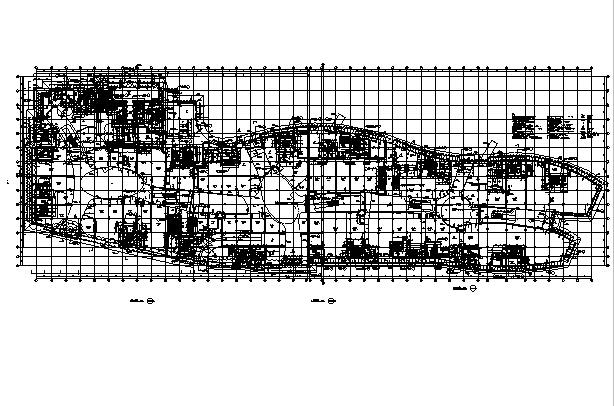 [江苏]高层多动能框剪结构商业街建筑施工图_4