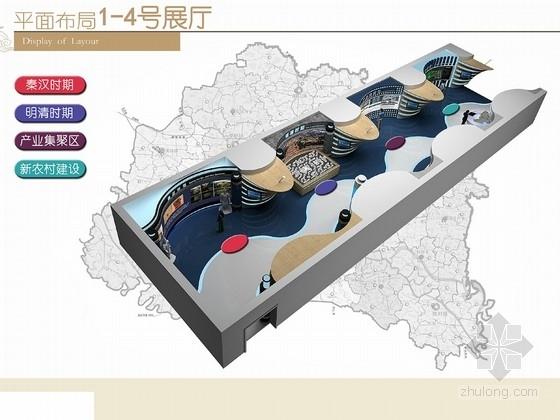 [河南]生产先进县现代城市规划馆设计方案图