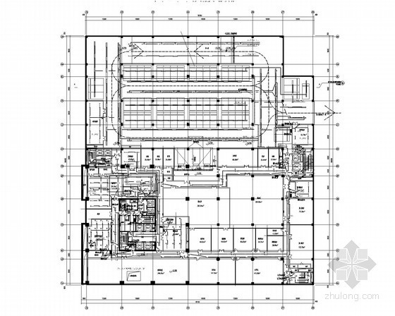 大型商业广场五星级酒店全套电气施工图纸93张