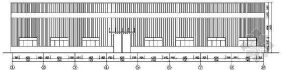 某门式钢架钢结构方案施工图纸