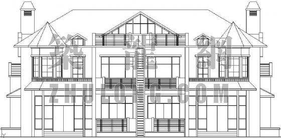 欧式别墅设计方案(3)