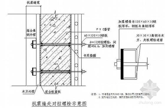 超长抗震缝内墙板模板施工工艺(附照片、详图)