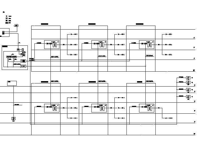 [陕西]知名大型商业办公综合体弱电智能化专项设计图