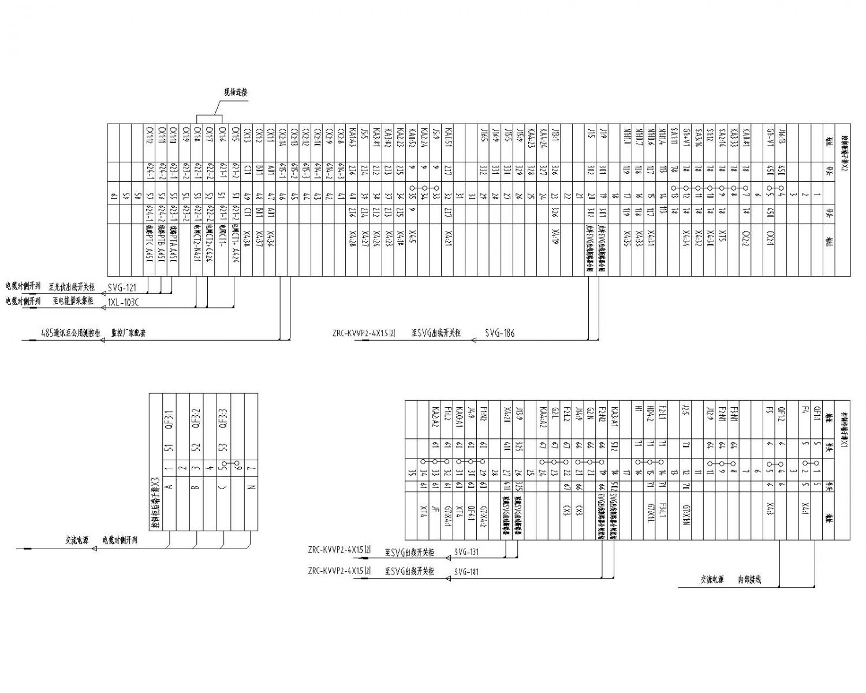 svg控制柜端子接线图
