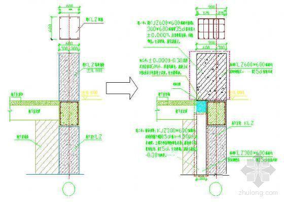 某建筑公司改造工程施工技术总结