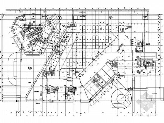 [江西]20万平大型综合体给排水消防施工图
