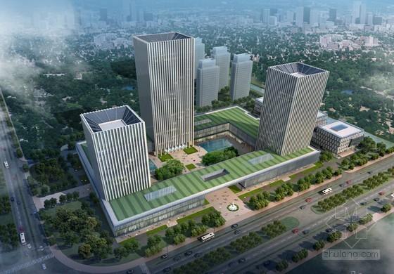 [浙江]框架核心筒结构商业办公楼工程施工组织设计