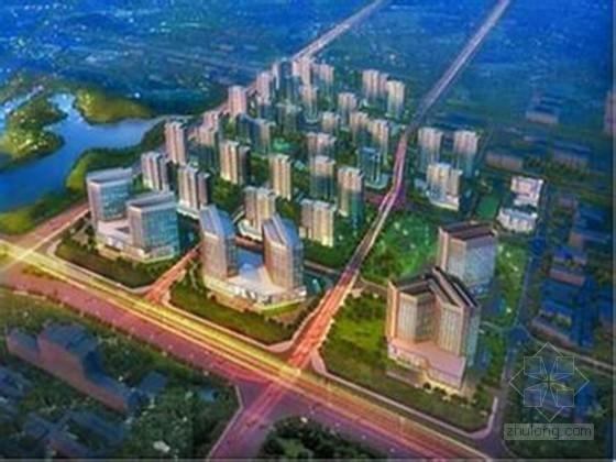 [北京]商业金融项目机电工程施工组织计划(水暖电 2014年新编)