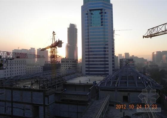 [QC成果]框架结构建筑钢结构工期控制(图文并茂)