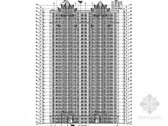 32层框剪住宅结构施工图(预应力管桩、含建施)