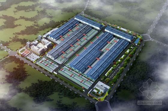 [四川]装配式钢结构厂房项目总承包管理策划(图文丰富)
