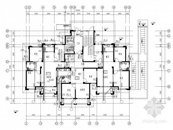 [安徽]超高层住宅给排水施工图
