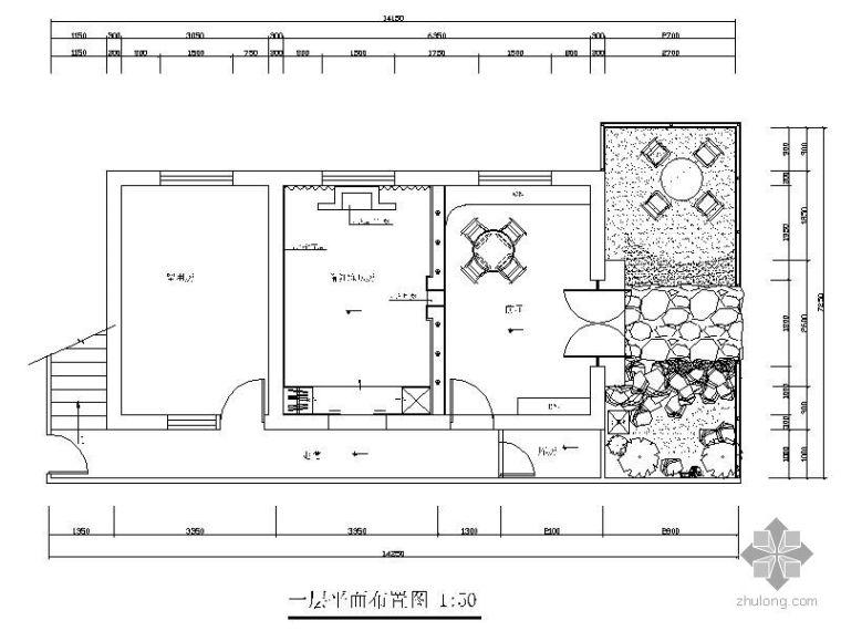 [杭州]某SPA养生馆装修施工图