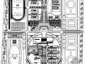 某大学校园景观规划平面图