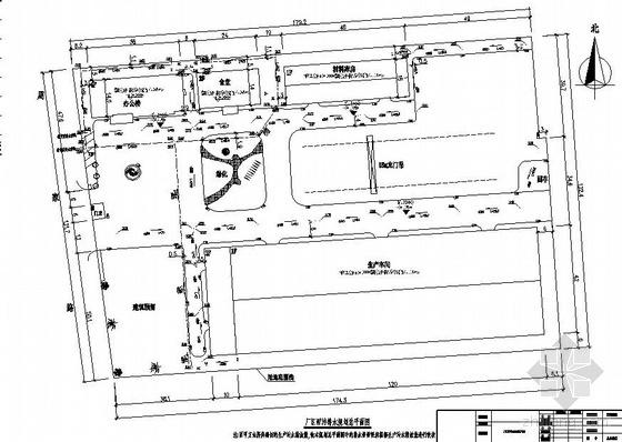 江苏某工厂生产车间、仓库、办公楼给排水图纸