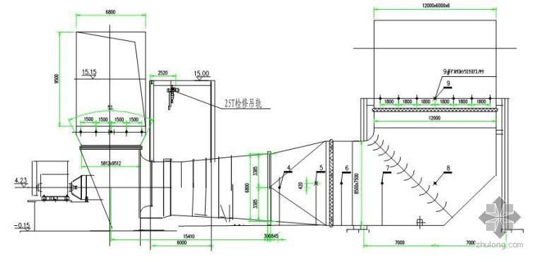 某电厂脱硫烟气系统设备安装施工方案