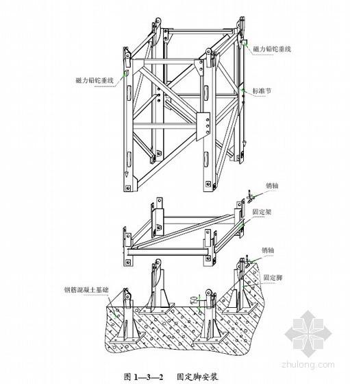 ST6015塔式起重机安装使用说明书