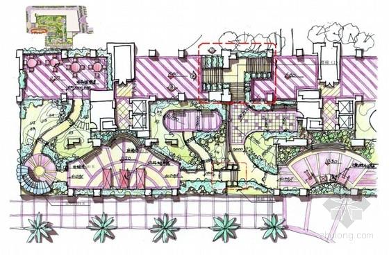 公共空间花园景观设计扩初方案
