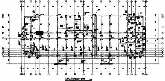 [芜湖]12层框架结构公共服务用房整套结构施工图