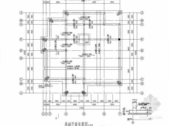 两层农村自建房混合结构施工图