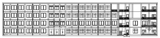 [西北某科技大学]某五层教学楼建筑施工图(房屋建筑学课程设计)
