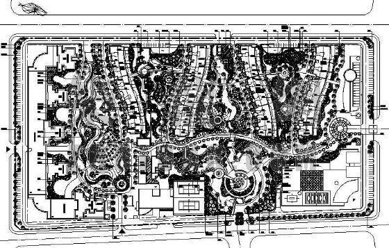 住宅小区景观设计图纸
