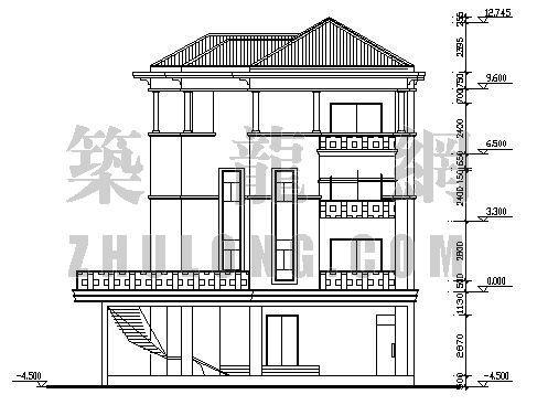 多层别墅施工图-3