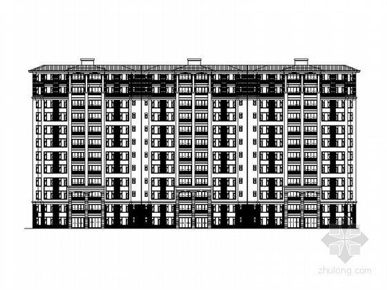 [佛山]某十二层塔式住宅楼建筑施工图