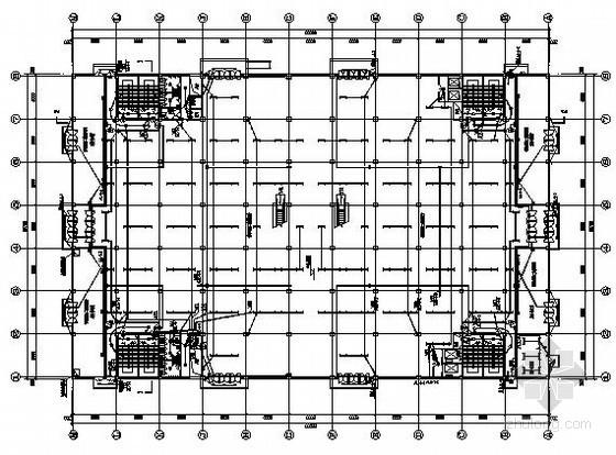 四层大型商场全套电气施工图纸