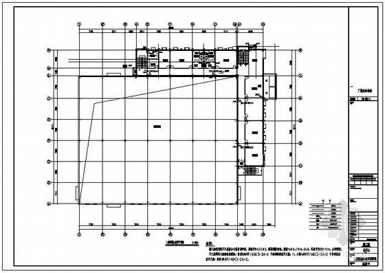 某厂区办公楼给排水及消防泵站图纸