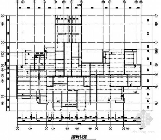 [北京]样板间屋面彩钢结构施工图