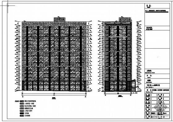 某公寓楼幕墙工程设计图(含计算书)