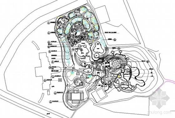 某温泉城总体规划图