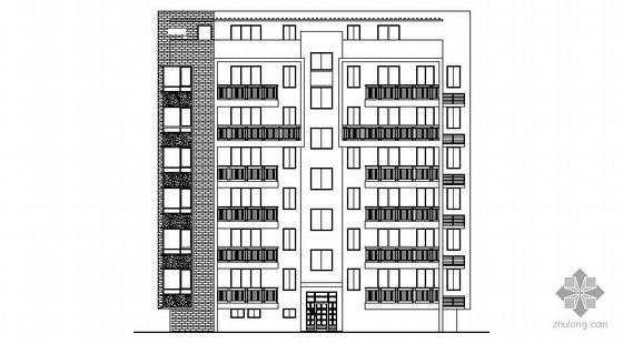 某六层住宅商住楼建筑施工图