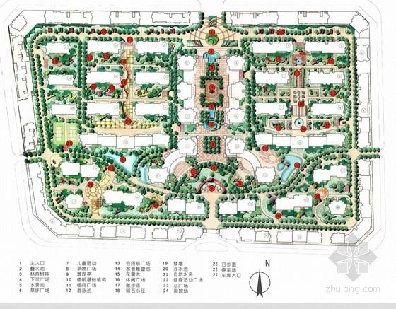 [台州]住宅区环境景观设计方案文本
