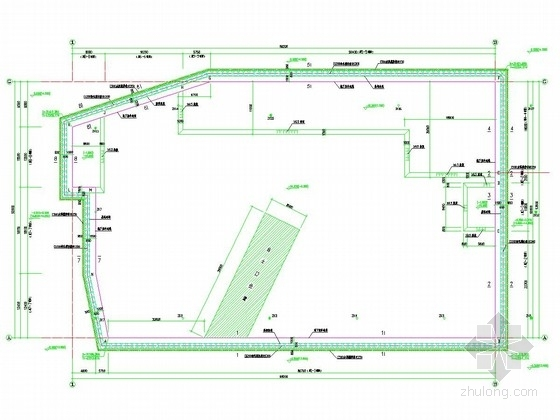 [福建]15米深基坑排桩加长锚杆支护施工图