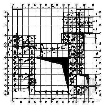 武汉某酒店框架结构全套图