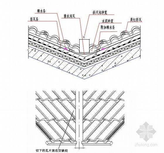 贵州省某别墅项目坡屋面盖瓦施工方案