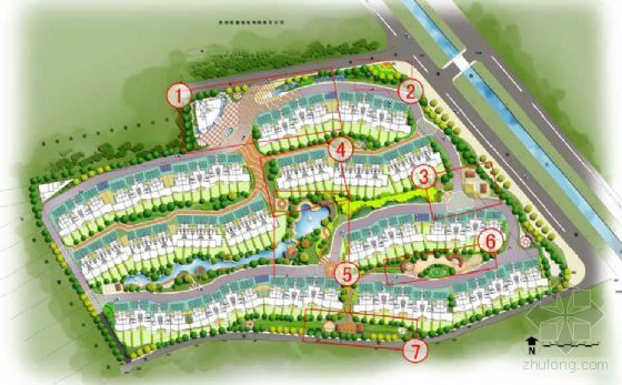 [昆明]住宅小区园林绿化设计方案
