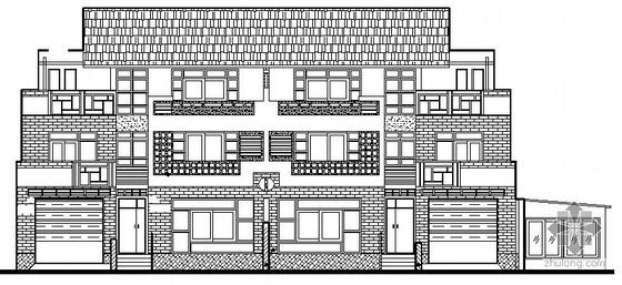 某三层高档别墅建筑施工图