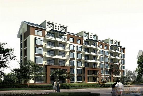 [毕业设计]大型住宅楼建筑装饰工程报价书及施工组织设计(含横道图 138页)