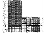 [江苏]高层商业建筑施工图(通过报规、审图办版全套施工图最新)