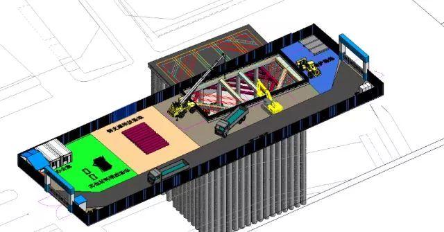中建六局首个盾构法施工综合管廊隧道全部贯通_5