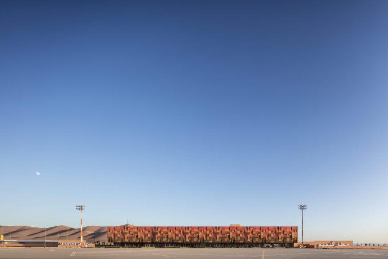 摩洛哥可拓展性盖勒敏机场外部实景图 (1)