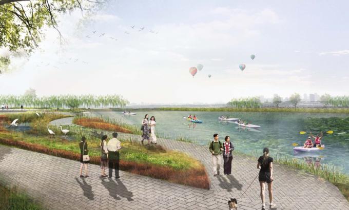 [湖北]绿色半岛滨湖生态湿地公园景观设计方案(2017最新)
