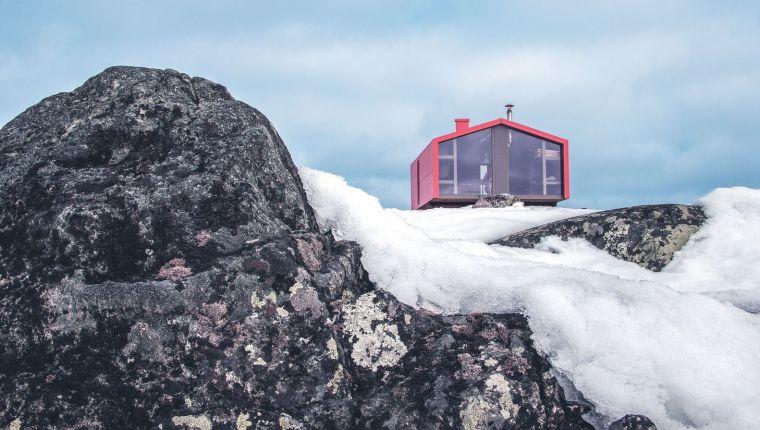 俄罗斯雪地上的DublDom预制观景屋-9