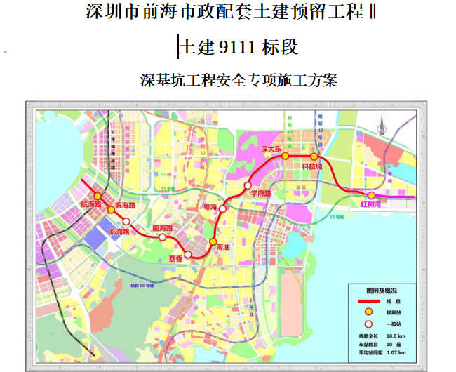 [深基坑]深圳前海地铁深基坑工程安全专项施工方案(共206页)