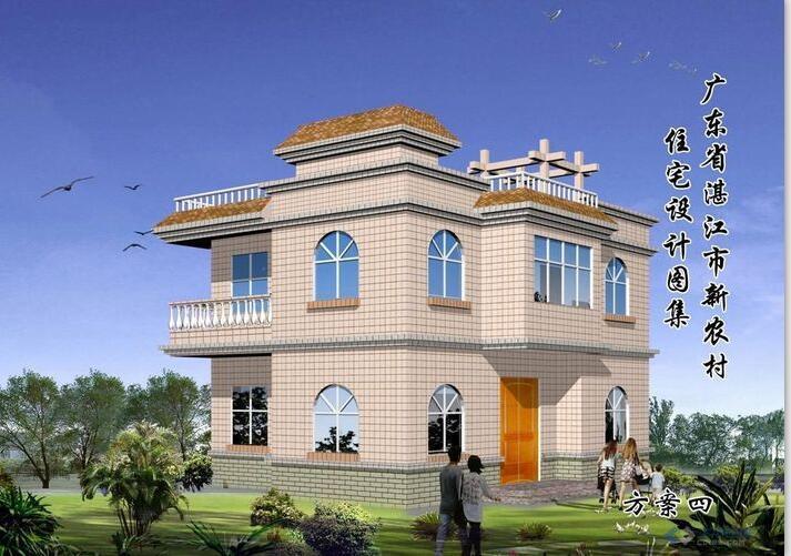 湛江新农村住宅建筑设计文本(CAD)